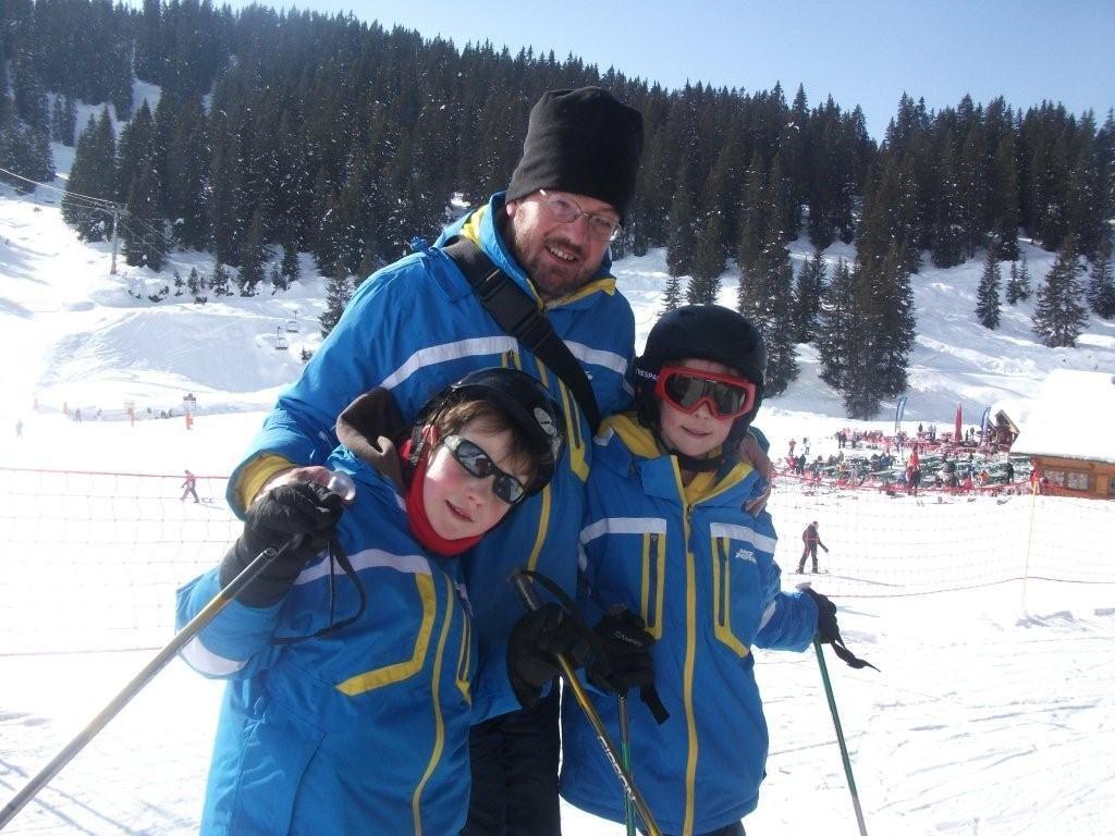 Simon Haas and family